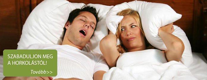 Szabaduljon meg a horkolástól